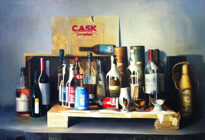 Cask Sweden Painting